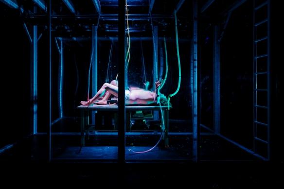 FRANKENSTEIN på Nordland Teater. Foto: Marius Fiskum / www.mariusfiskum.no